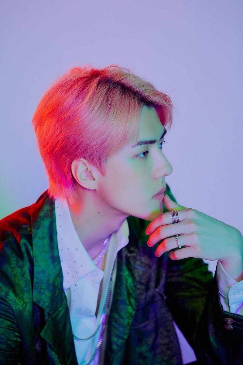 EXO-SC 1 Billion Views 1st Full length Album release date 2020.07.13 Sehun Solo 'ON ME' Image Teaser #6 20200609