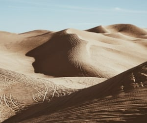 desert, sand, and travel image