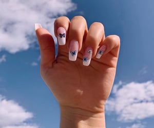 french manicure nails image