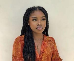 beauty, girl, and melanin image