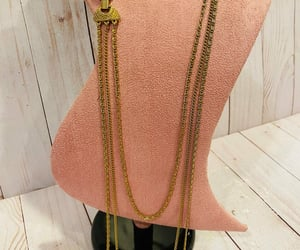 etsy, vintage necklace, and goldette jewelry image