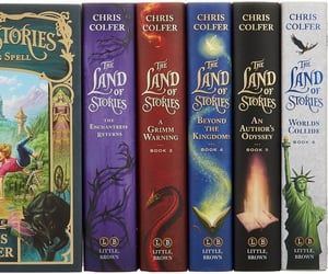 books, the land of stories, and chris colfer image