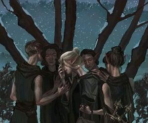 fan art, inquisition, and elves image