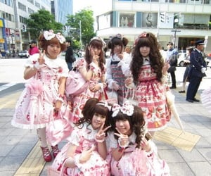 girls, lolita, and inspo image