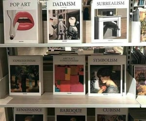 art, books, and aesthetic image
