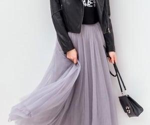 black, black handbag, and fashion image