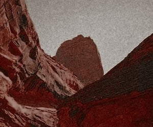 nature, red, and desert image