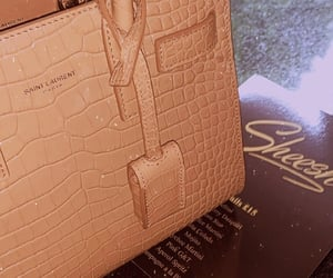 YSL and leather bag image