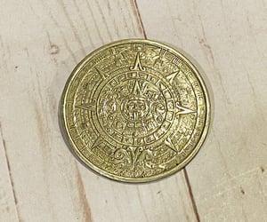 etsy, mexico silver pin, and sun calendar pin image