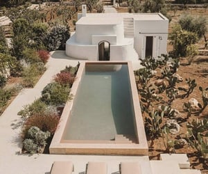 pool, italy, and luxury image