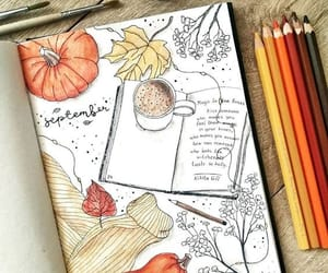 Such a wonderful September cover by @ginger.bullet.journal 🍂☺️ it makes me feel all warm and fuzzy inside #notebooktherapy  Shop amazing…