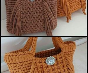 crochet bag, knitting patterns, and crochet ideas image