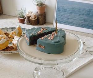 birthday, cake, and cream image
