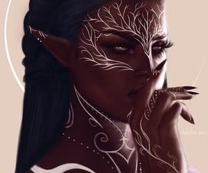fantasy, art, and illustration image