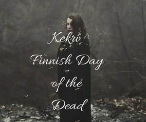 day of the dead, paganism, and finland image