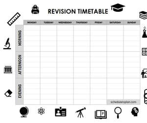 timetable, study revision timetable, and revision timetable image