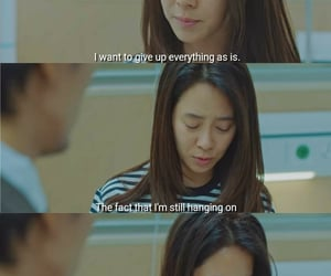 Korean Drama, life quotes, and was it love? image