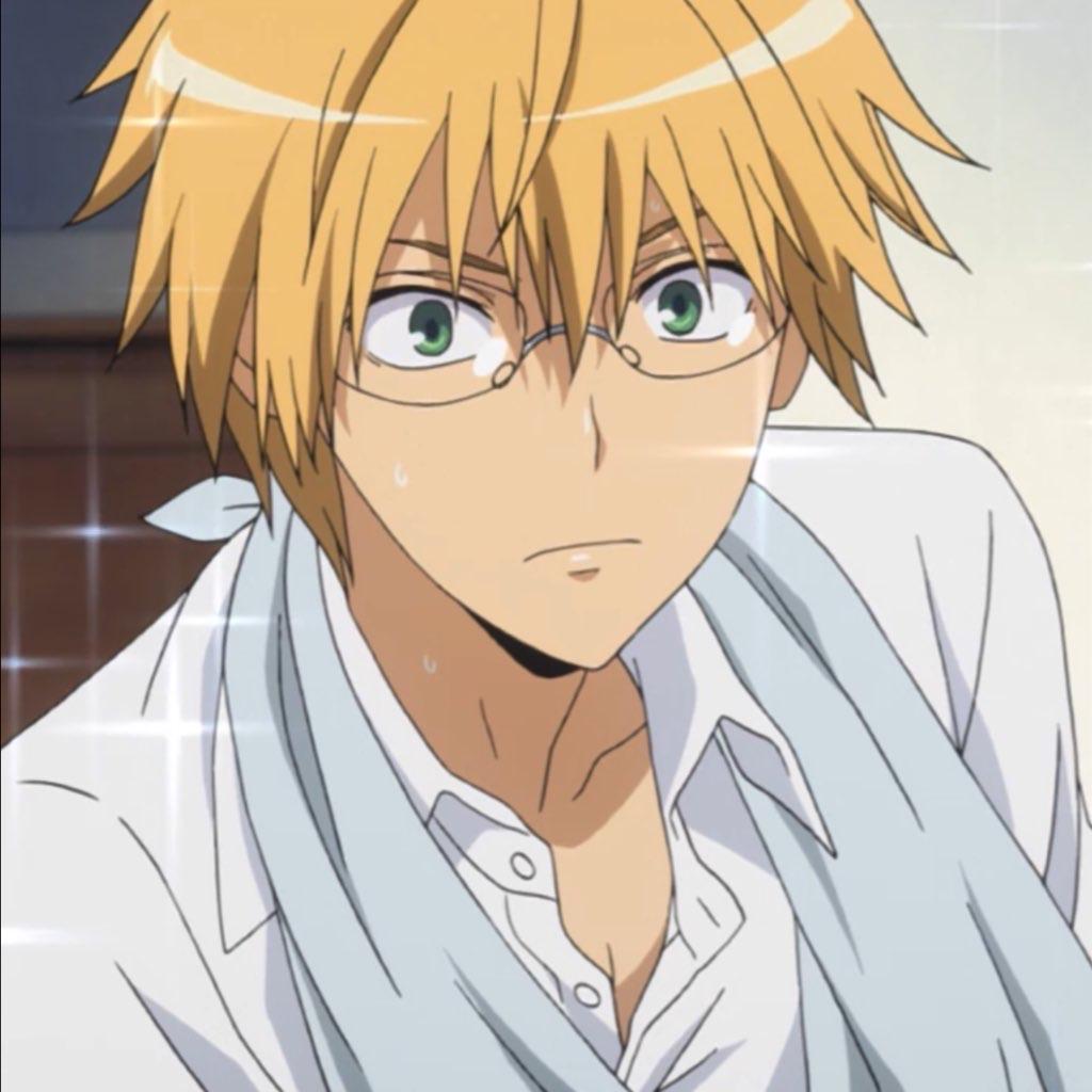 anime, kaichou wa maid sama, and usui takumi image