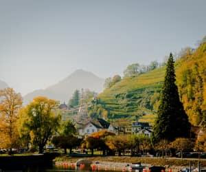 europe, switzerland, and townhouses image