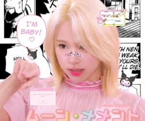 twice, chae, and cyber edit image