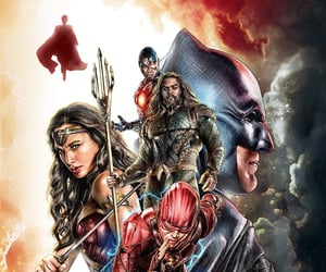 DC and justice league image