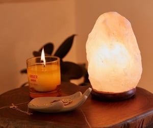 relaxing, cozy moment, and himalayan salt lamp image
