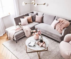 aesthetic, cozy, and sofa image