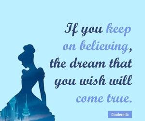 believe, cinderella, and disney image