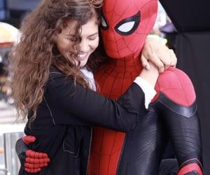zendaya, spiderman, and mj image