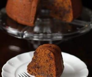 chocolate chip, pumpkin, and bundt cake image