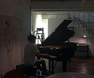 music, min yoon gi, and piano image