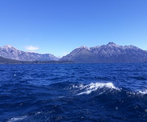 azul, lakes, and mountains image