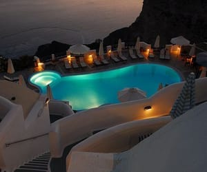 Greece, pool, and travel image