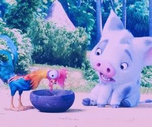 animals, Chicken, and princess image