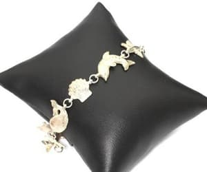 etsy, silver bracelet, and sea creatures image