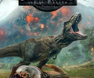 adventure, jurassic world, and science fiction image