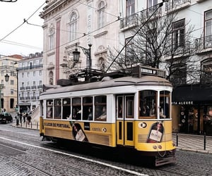 city, girly, and tram image