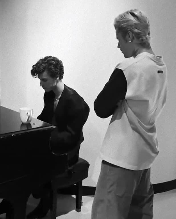 justin bieber and shawn mendes image