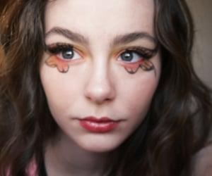 eyes, singer, and makeup idea image