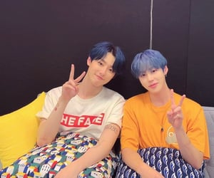 x1, sungwoon, and luizy image