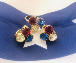 etsy, red white and blue, and patriotic jewelry image