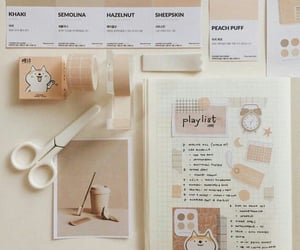 stationery, journal, and journaling image