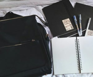 goals, notebook, and notes image