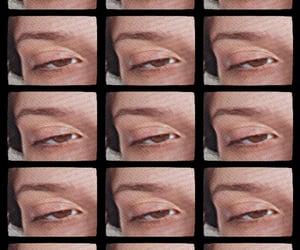 brown, eye, and eyebrow image