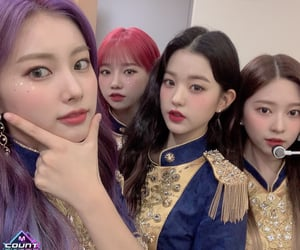 girl group, izone, and minju image