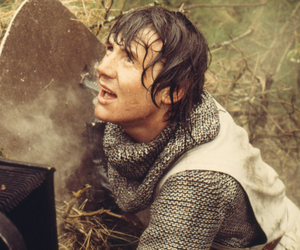 michael palin, monty python, and holy grail image