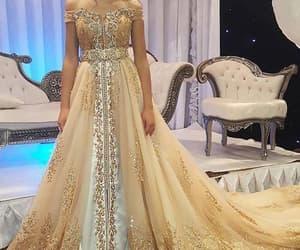 vintage prom dresses, gold prom dresses, and 2020 prom dress image