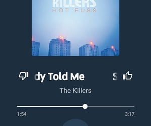 2004, the killers, and somebody told me image
