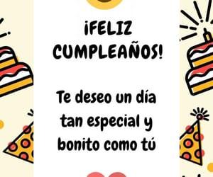 happy birthday, felicidades, and feliz cumpleanos image