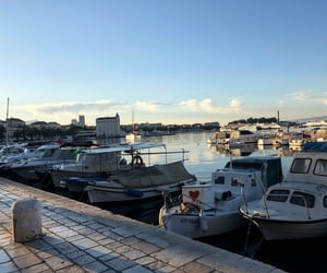 adriatic sea, mediterranean, and vessel image